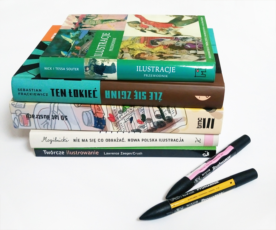 książki o ilustracji