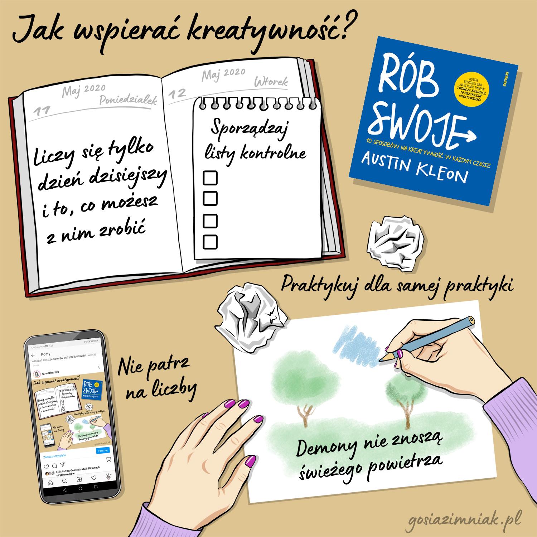 Jak wspierać kreatywność