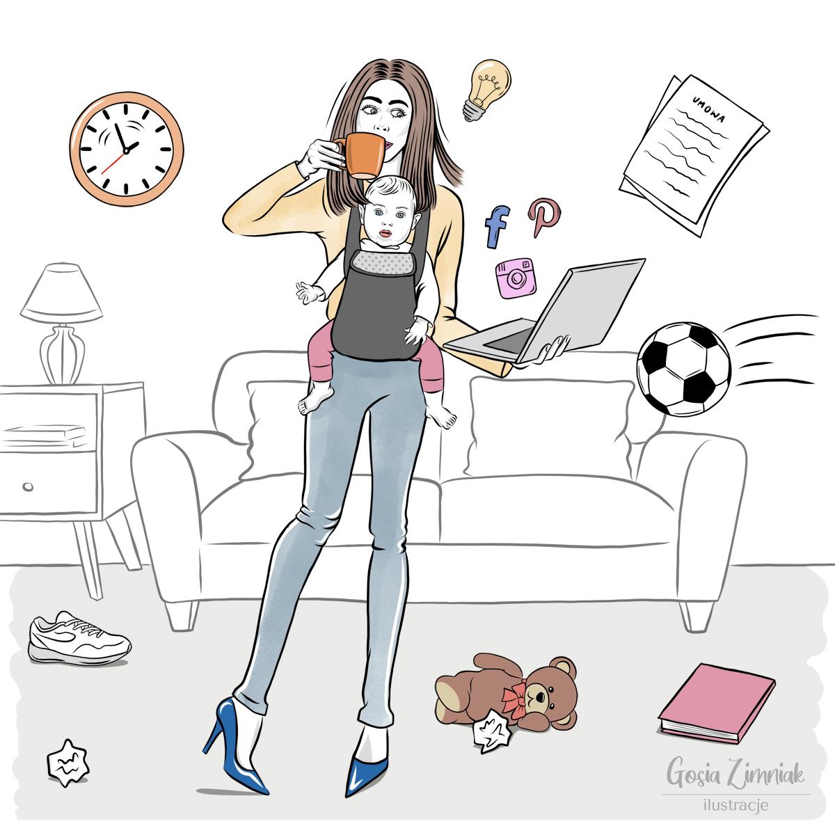 ilustracje lifestylowe